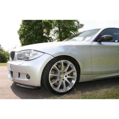2x Splitter en Carbone BMW serie 1 E81, E87 avec Pack M