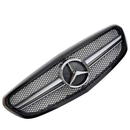 Calandre Mercedes Classe C W205 Elegance / Classic Look AMG 14-18
