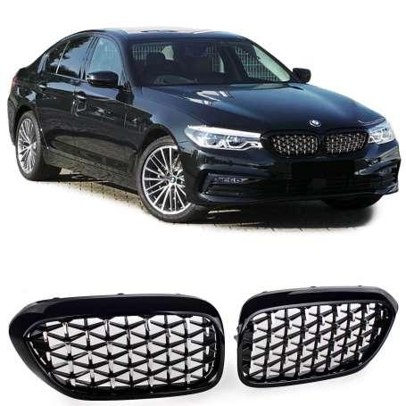 Calandre Look Exclusive BMW Serie 5 G30 G38 à partir de 2016