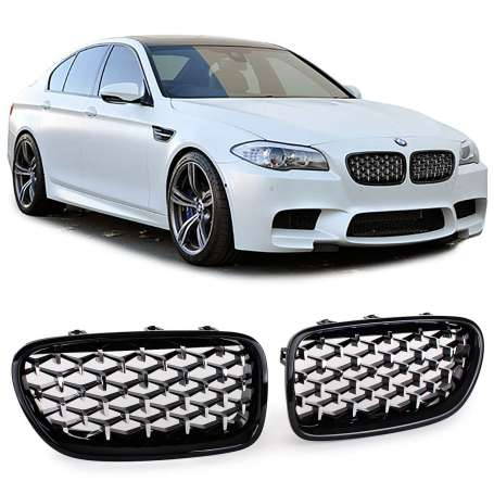 Calandre Look Exclusive BMW Serie 5 F10 F11 (10-17)