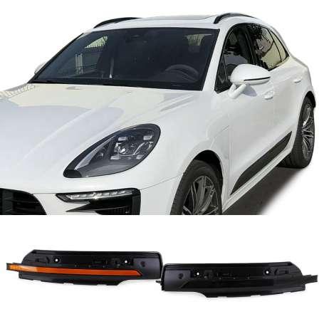 Clignotants Noirs fumés à LED Porsche Macan 95B (14-17)