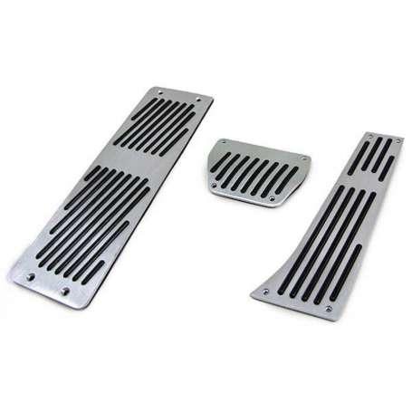 Jeu de pédales aluminium automatique + repose-pieds BMW Série 3 E30 E36 E46 E90 E91 E92 E93