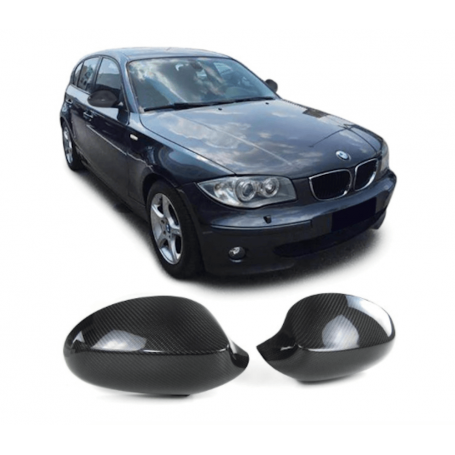 2x Coques retroviseur Carbone BMW serie 1E87 E82 04-07