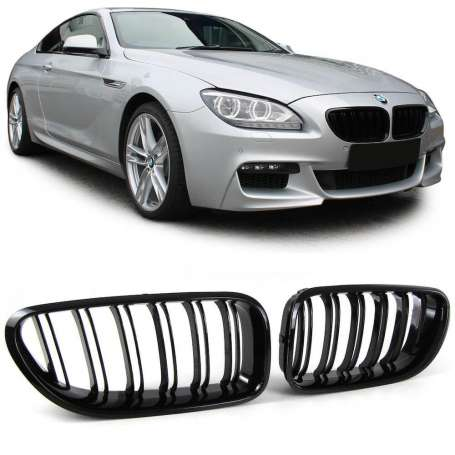 Calandre noire laquée BMW Série 6 F06 F12 F13 (+11)