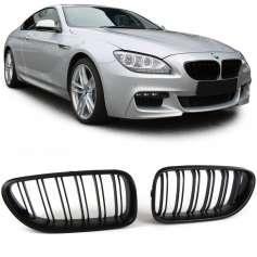 Calandre noire mat BMW Série 6 F06 F12 F13 (+11)