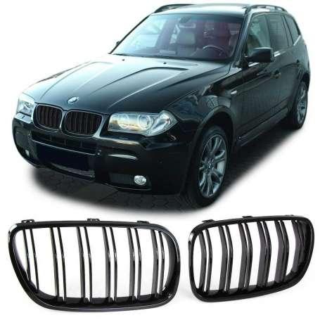Calandre noire laquée BMW X3 E83 (06-11)