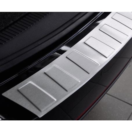 Seuil de coffre chromé mat BMW X3 F25 FL 14-16 Pack M