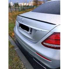 Becquet Noir brillant Mercedes Classe E Berline W213 Slim 16+