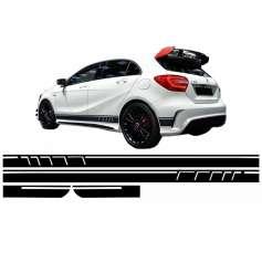 Sticker Mercedes Classe A W176 AMG Edition 12-18 NOIR