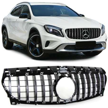 Calandre Mercedes GLA X156 noir
