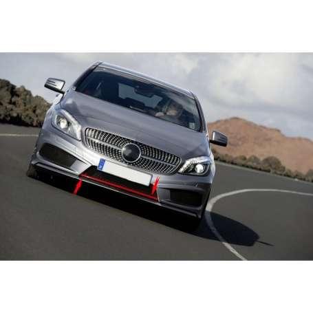 Rajout pare choc Mercedes Benz Classe A W176 avec pack AMG