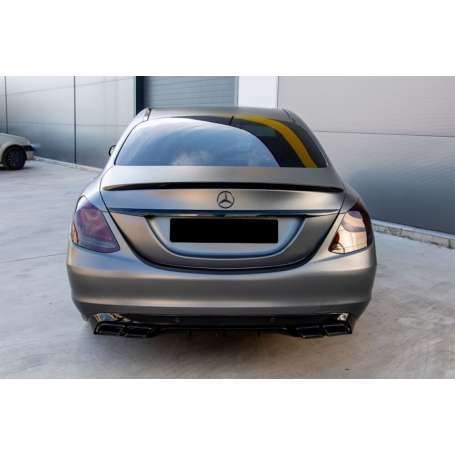 2x Embouts d'echappement Noir ou chrome Mercedes W205 C205 GLE C292 W213 W222 GLC C217 14+