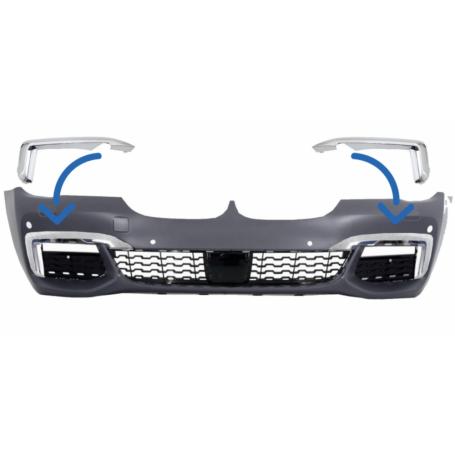 2x Garniture de pare choc avant BMW serie 7 G12/G11 (15-19)