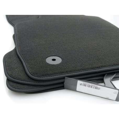 Set tapis velours noir Audi A3 8P qualité OEM 04-12
