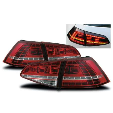 2x Feux arrieres GOLF VII 7 GTI R-Design avec clignotants dynamiques 13-17