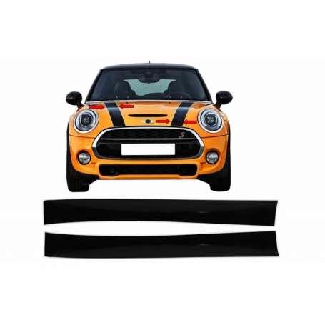 Sticker capot noir et blanc MINI R50 R52 R53 R56 R57 Clubman R55 (2001-2017)