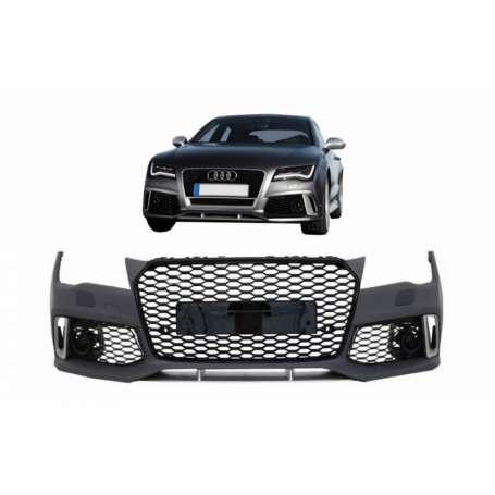 Pare chocs avant + calandre Audi A7 4G (10-14) Look RS7