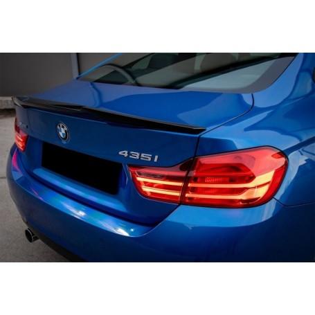 Becquet BMW F32 Serie 4 M4 CSL Look Noir brillant 13+