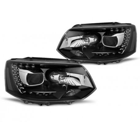 2x Phares Vw T5 Look Xenon LED 10-15