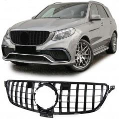 Calandre Mercedes GLE W166 Noir brillant 15+