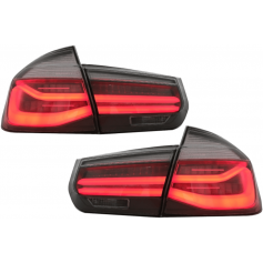 2x Feux arriere LED BMW serie 3 F30 Look Black line 11-14