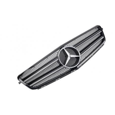 Calandre Mercedes Classe C W204 Noir brillant C63 AMG