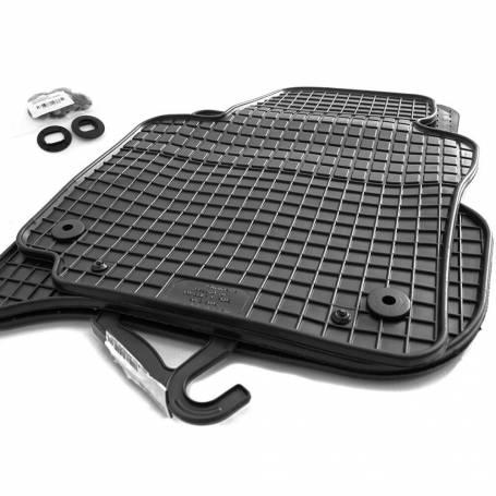 Set tapis caoutchouc noir Vw Golf 5/6, Jetta, Scirocco 03-12