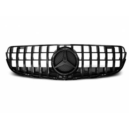 Calandre Mercedes GLC W253 Look GT-R Noir Brillant 15+