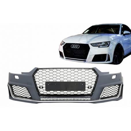 Pare choc + calandre avant Audi A4 B9 Look RS4 16-18