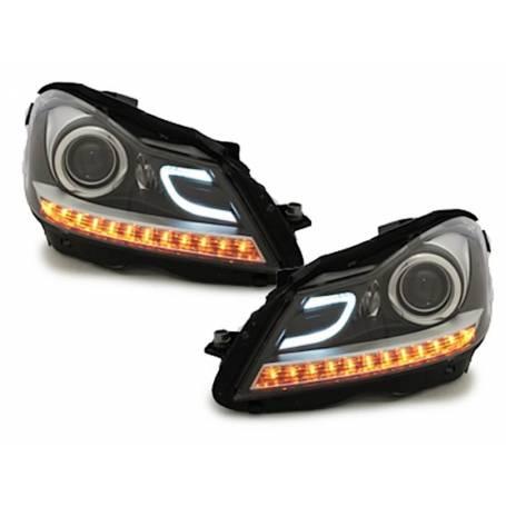 2x Phares avants LED Classe C W204 11-14