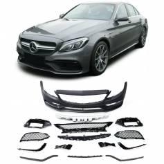 Pare-chocs avant Mercedes Classe C W205 (14+) Berline S205 Modèle T (+15) C205 Coupé (+15) A205 Cabriolet (+14) C63 A-Design