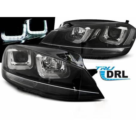 2x Phares LED Golf VII 7 12-17 Black Line Look 12-17