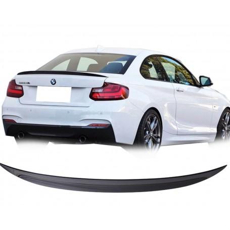 Becquet Noir brillant BMW Série 2 F22 coupé et M2 (13+)