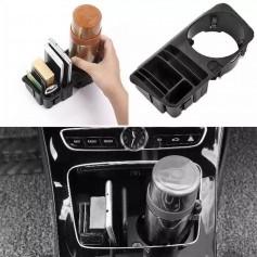 Porte gobelet rangement Mercedes C W205, E W213 et GLC
