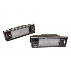 2x Eclairages de plaque LED - Blanc Pur 106 1007 207 307 308 3008 406 407 508