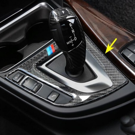 Cadre de levier de vitesse BMW en Carbone M Serie 3 F30, Serie 4