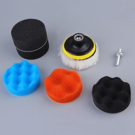 Kit polissage complet pour visseuse ou perceuse