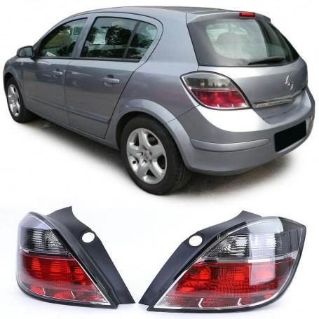 2x Feux arrieres noir fumés Opel Astra H 07-10