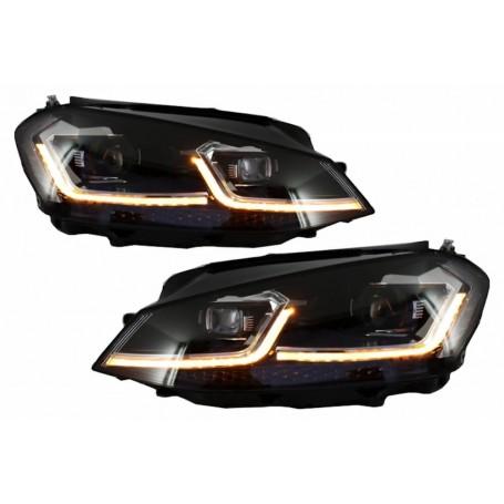 2x Phares LED Golf VII 7 look Facelift 12-17