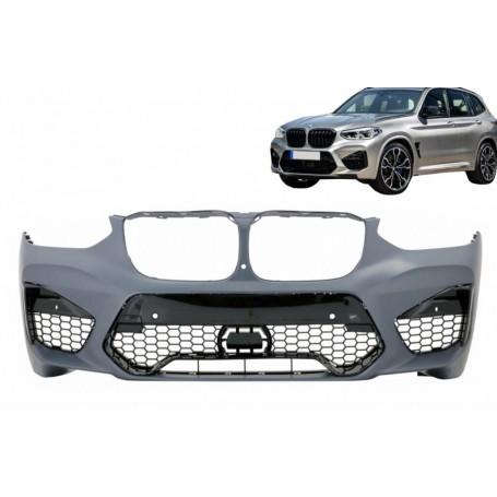 Pare choc avant BMW X3 G01 et X4 G02 Look Sport Design 17+