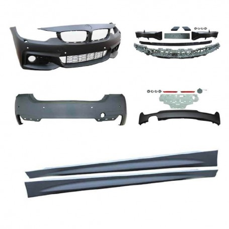 Kit carrosserie BMW Serie 4 F36 Gran Coupee M Sport Design 14+