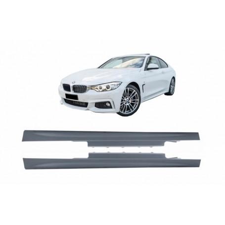 2x Bas de caisses BMW Serie 4 F32 Coupe F33 Cab 13-16
