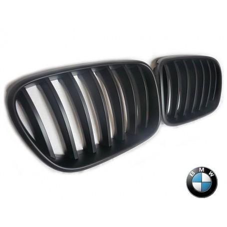 Grilles de Calandre BMW X3 E83 - Noir Mat