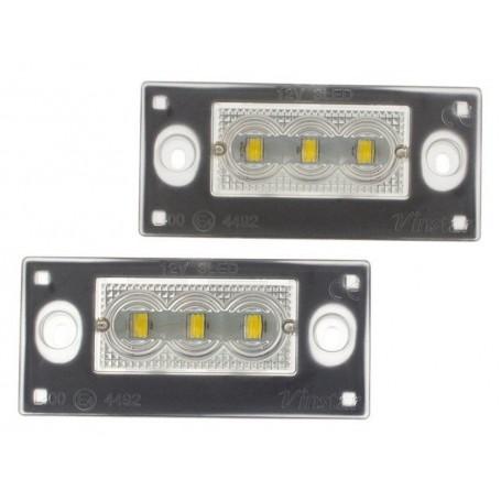 Eclairage de plaque LED - Blanc Pur AUDI A4
