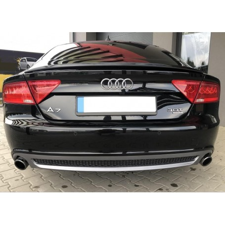 Diffuseur arriere Audi A7 Look S-Line 10-14 (1+1)