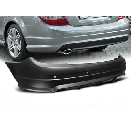Pare Choc arrière Mercedes Classe C W204 Coupe / Berline Look AMG (07-10)