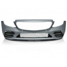 Pare chocs avant + grilles Look Pack AMG Mercedes Classe C W205 S205 (18+)