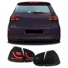 2x Feux à LED Fumés Golf V 5 (03-08) avec clignotants dynamiques