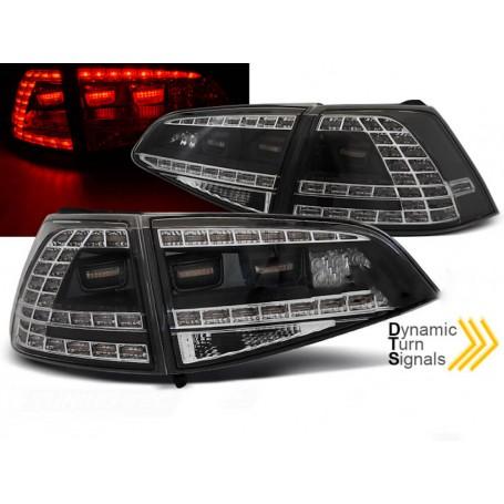 2x Feux arrieres LED R-Design Golf VII 7 sans clignotants dynamiques 13-17