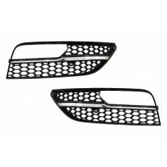 2x Grilles de pare choc avant Audi A3 8V look S-Line inserts chrome (12-16)